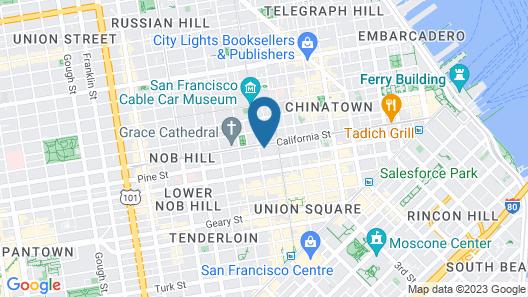 InterContinental Mark Hopkins, an IHG Hotel Map