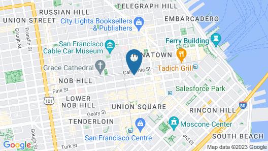 The Ritz-Carlton, San Francisco Map