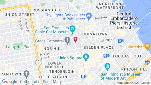 Fairmont San Francisco Map