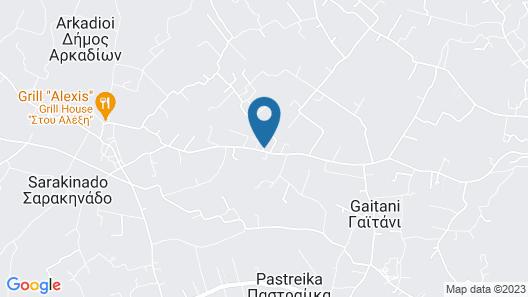 Astarte Villas - Kyveli Villa Map