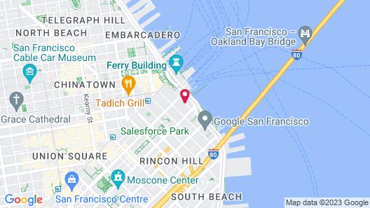 Hotel Griffon Map
