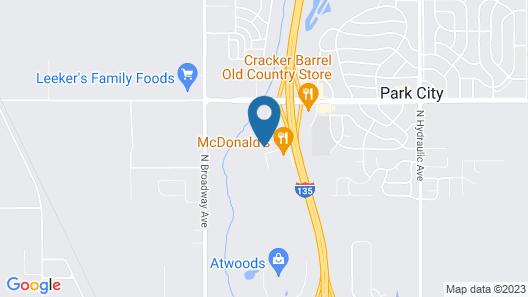 Park City Inn Map