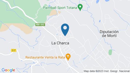 Casa Rural Huerto El Curica Map