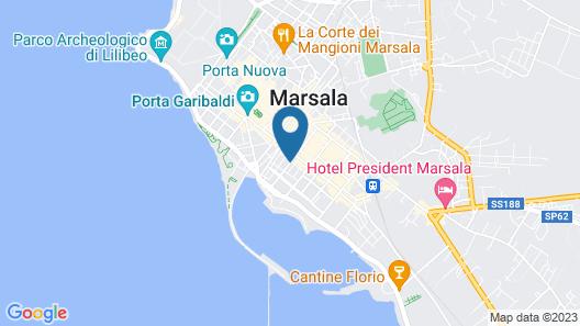 B&B Al Porticciolo Map