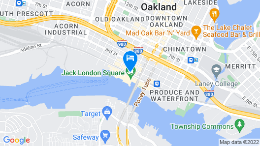 Jack London Inn Map