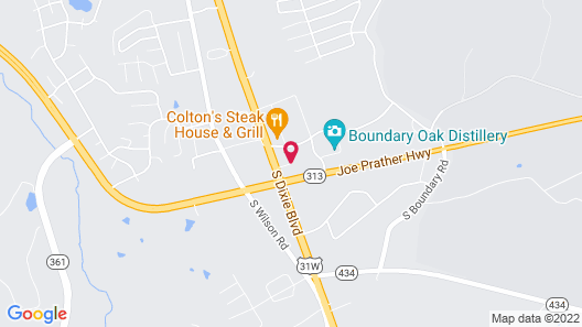 Holiday Inn Express Radcliff-Fort Knox, an IHG Hotel Map