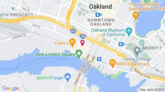 Z Hotel Jack London Square Map
