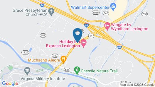 Country Inn & Suites by Radisson, Lexington, VA Map