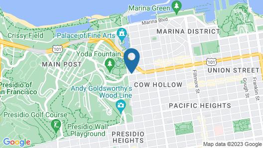 Travelodge by Wyndham Presidio San Francisco Map