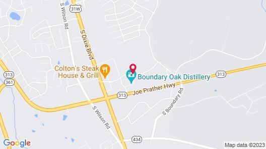 Hampton Inn & Suites Radcliff - Fort Knox Map