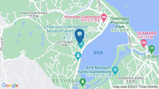 Gyeongpo's Day Pension Map
