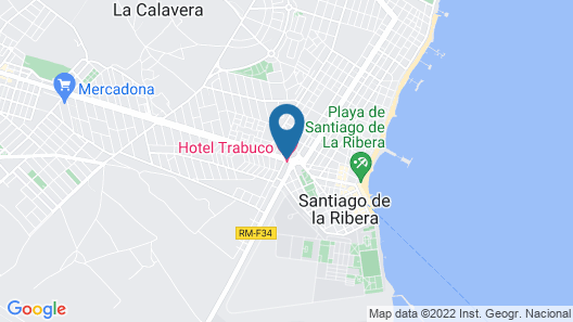Hotel Trabuco Map