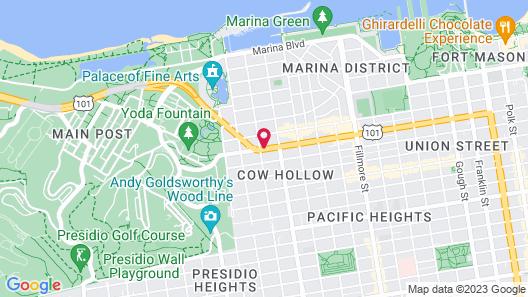 Marina Motel Map