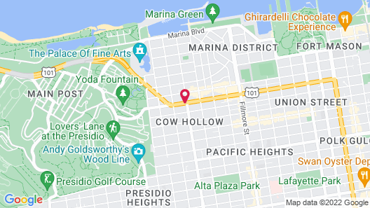 Alpha Inn & Suites Map