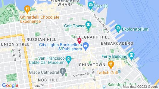 Hotel Boheme Map