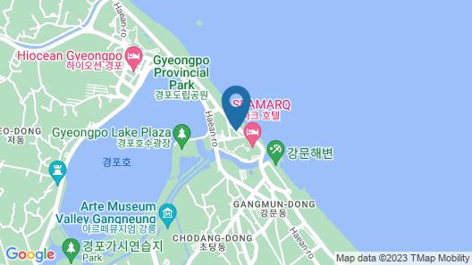 SEAMARQ Hotel Map