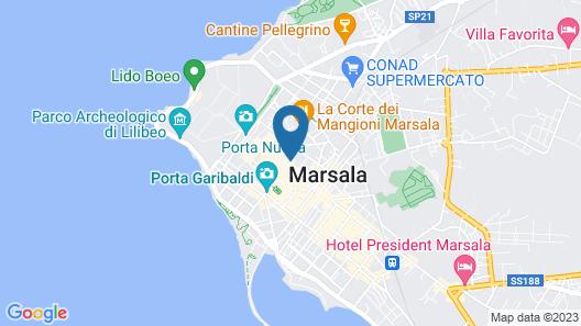 Best Western Hotel Stella D'Italia Map
