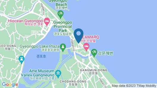 Gyungpo Beach Hotel Map
