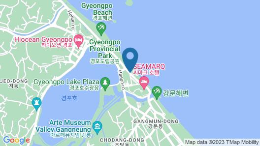 Gyeongpo Soo Hotel Map