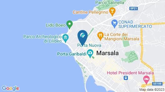 B&B A Modo Mio Marsala Map