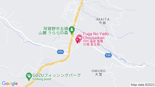 Fuga No Yado Chouseikan Map