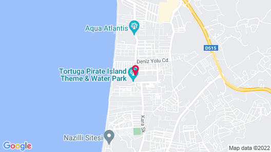 Atlantique Holiday Club - All Inclusive Map