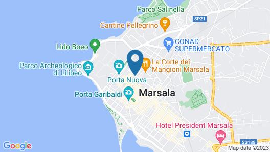 Le Caserie Map
