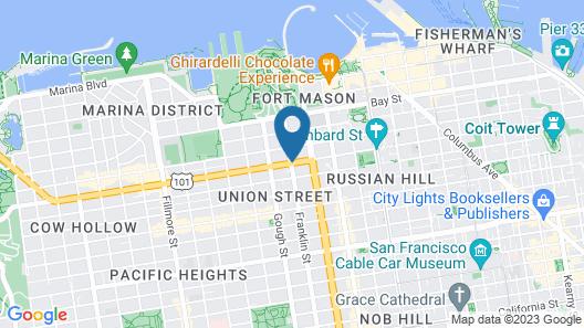 Lombard Motor Inn Map