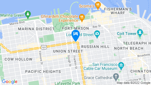 Comfort Inn by the Bay Map