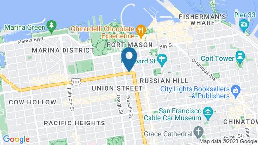 Travelodge by Wyndham San Francisco Bay Map