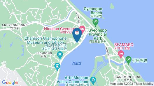 Gyeongpo Woosung Pension Map
