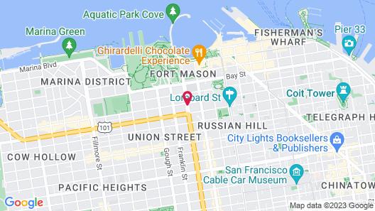 Van Ness Inn Map
