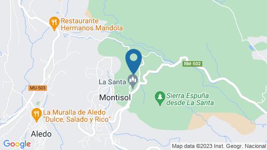 Monasterio Santa Eulalia Map