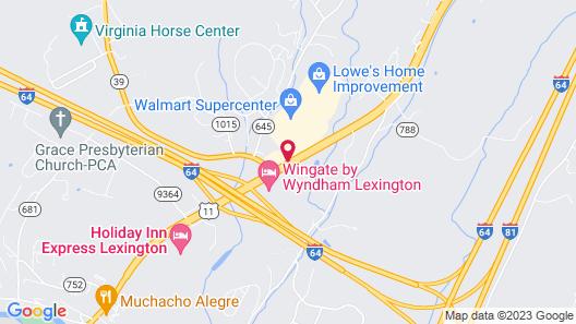 Super 8 by Wyndham Lexington VA Map