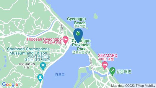 Skybay Hotel Gyeongpo Map