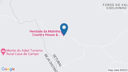 Herdade da Matinha Country House & Restaurant Map