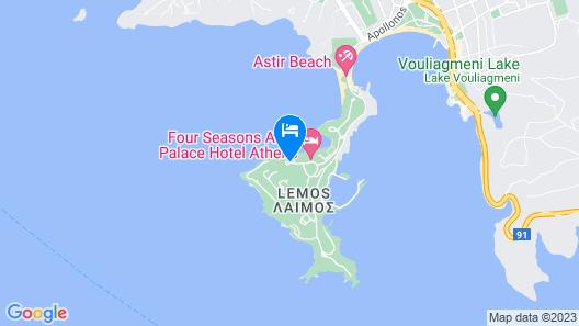 Four Seasons Astir Palace Hotel Athens Map