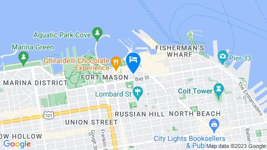 Suites At Fishermans Wharf Map