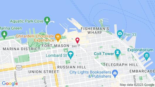 Marriott San Francisco Fisherman's Wharf Map