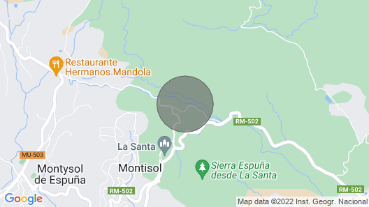 Vacation Home De la Cruz in Totana - 7 Persons, 4 Bedrooms Map
