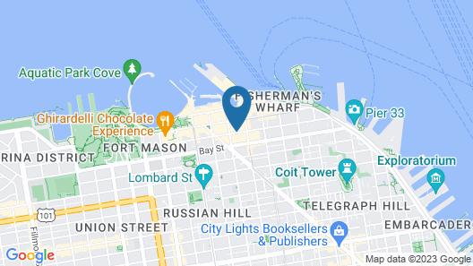 Hyatt Centric Fisherman's Wharf San Francisco Map