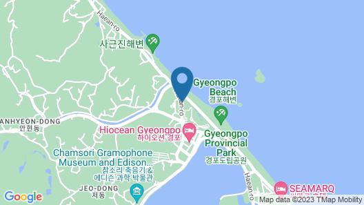 Gyeongpodae The Hotel Business Map