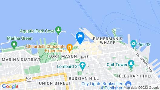 Argonaut Hotel - a Noble House Hotel Map