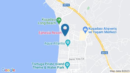 Batihan Beach Resort & Spa Map