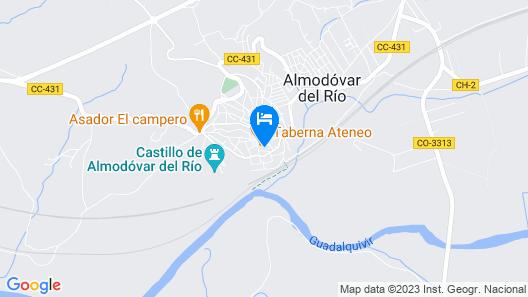 Hostal Villa de Carbula Map