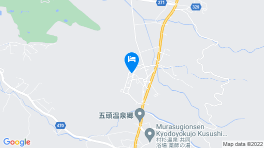 Ryokan Imaita Onsen Yumotokan Map