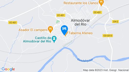 Fuentepiedra Casa Rural Map