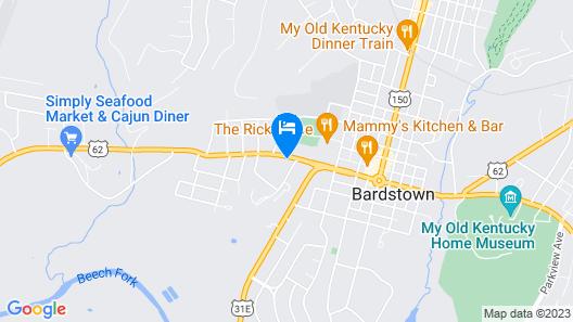 SureStay Hotel by Best Western Bardstown General Nelson Map
