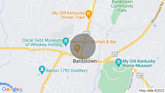 Beautiful Apartment in the Heart of Bardstown, KY Map