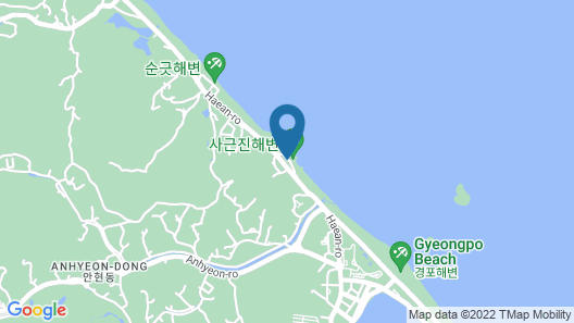 Gangneung Beach House Pension Map